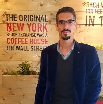 COFFEEHOUSE General Manager Fedonas Christou.s