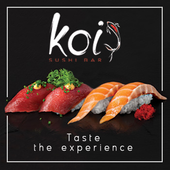 koi sushi bar franchise street food