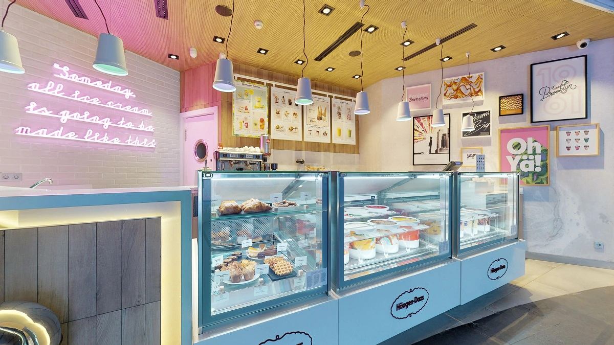 haagen dazs franchise estiasi ice cream