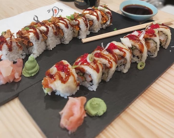 koi sushi bar franchise