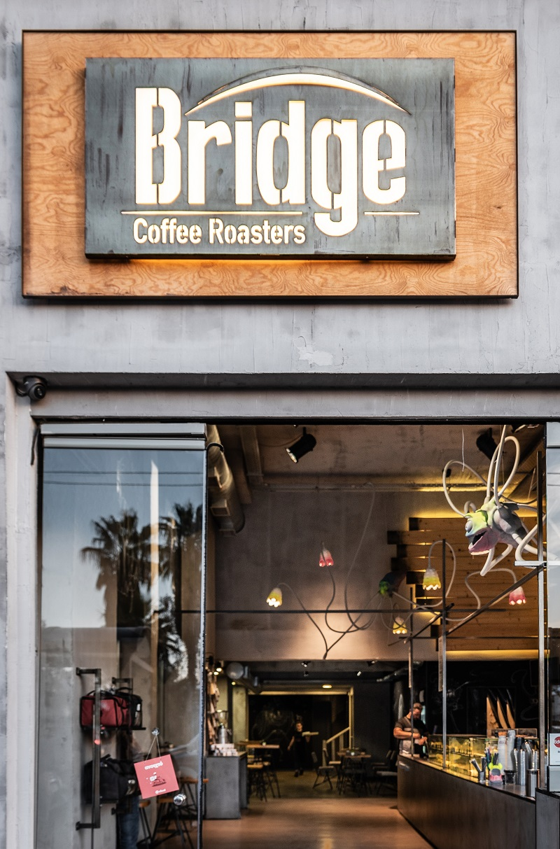 bridge coffee roasters cafe
